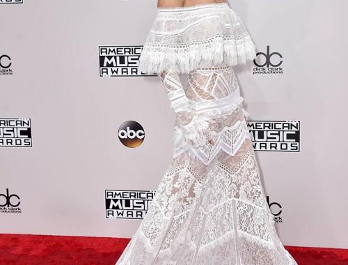 4-Gigi Hadid de Roberto Cavalli en los American Music Awards